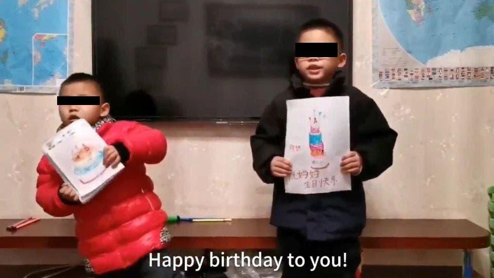 Video: Niños hacen emotiva felicitación a su mamá que lucha contra el coronavirus